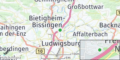 Google Map of Geisingen
