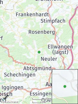 Here Map of Adelmannsfelden