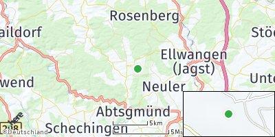 Google Map of Adelmannsfelden