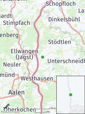 Here Map of Röhlingen