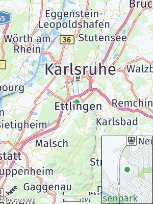 Here Map of Ettlingen