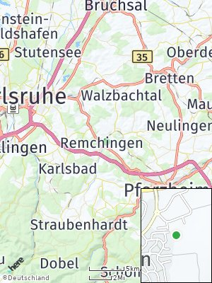 Here Map of Remchingen