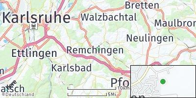 Google Map of Remchingen