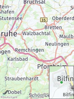 Here Map of Kämpfelbach