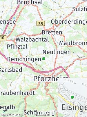 Here Map of Eisingen