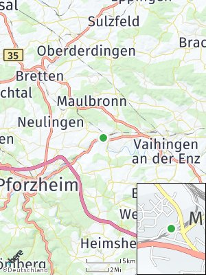 Here Map of Mühlacker