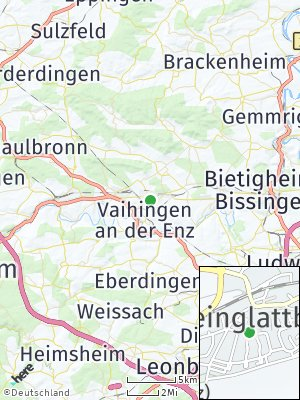 Here Map of Kleinglattbach