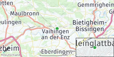 Google Map of Kleinglattbach