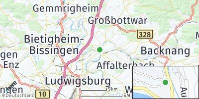 Google Map of Benningen am Neckar