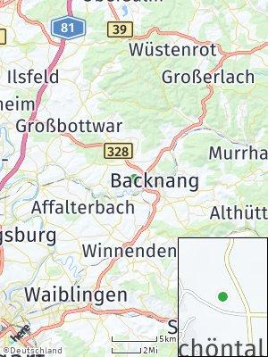 Here Map of Oberschöntal