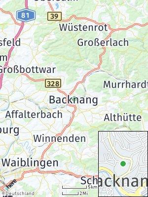 Here Map of Backnang