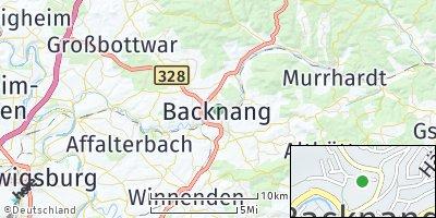Google Map of Backnang