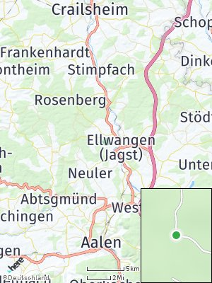 Here Map of Braune Hardt