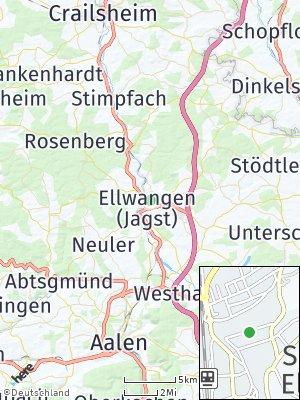 Here Map of Schloß ob Ellwangen