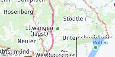 Google Map of Rötlen