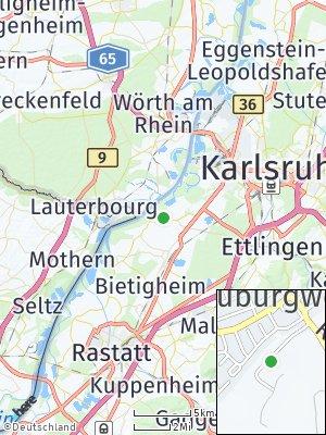 Here Map of Neuburgweier