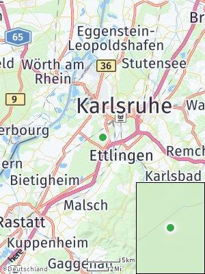 Here Map of Scheibenhardt
