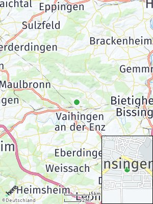 Here Map of Ensingen