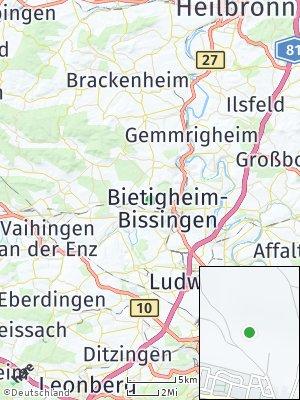 Here Map of Metterzimmern