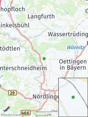 Here Map of Fremdingen
