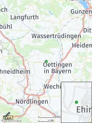 Here Map of Ehingen am Ries