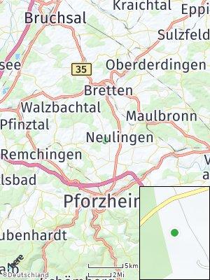 Here Map of Neulingen