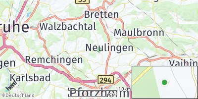 Google Map of Neulingen