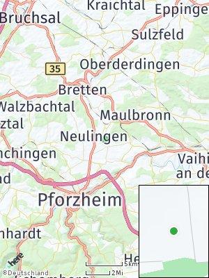 Here Map of Ölbronn-Dürrn