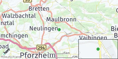 Google Map of Ötisheim