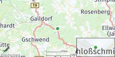 Google Map of Sulzbach-Laufen