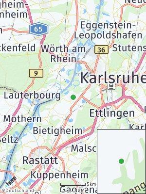Here Map of Rheinstetten