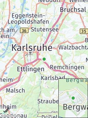 Here Map of Bergwald
