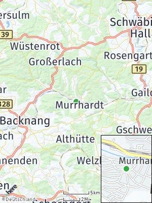Here Map of Murrhardt