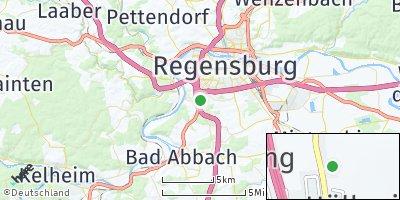 Google Map of Pentling