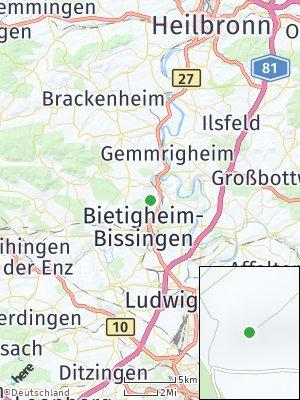 Here Map of Besigheim