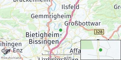 Google Map of Hessigheim