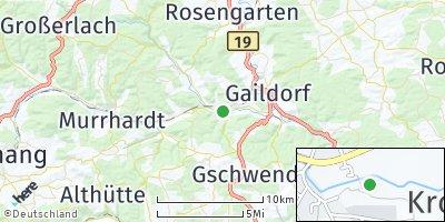 Google Map of Fichtenberg
