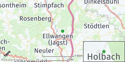 Google Map of Holbach
