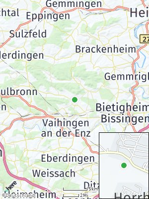 Here Map of Horrheim