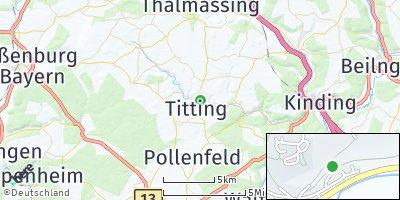 Google Map of Titting