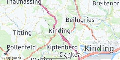 Google Map of Kinding