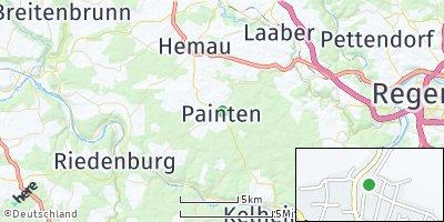 Google Map of Painten bei Kelheim