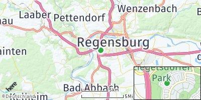 Google Map of Ziegetsdorf