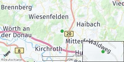 Google Map of Falkenfels