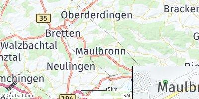 Google Map of Maulbronn