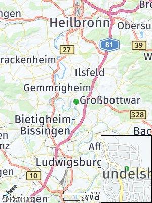 Here Map of Mundelsheim
