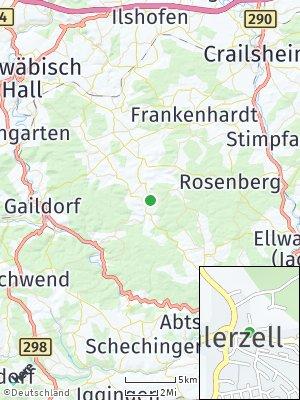 Here Map of Bühlerzell
