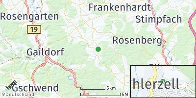 Google Map of Bühlerzell