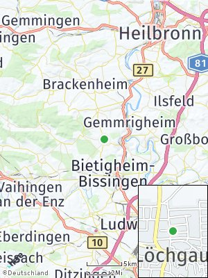 Here Map of Löchgau
