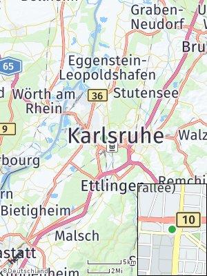 Here Map of Innenstadt-Ost